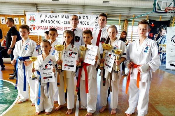 Karatecy Oyama Karate znowu na podium